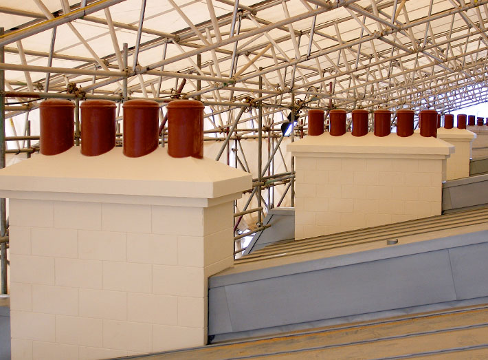Durable, lightweight and maintenance free GRP mouldings.