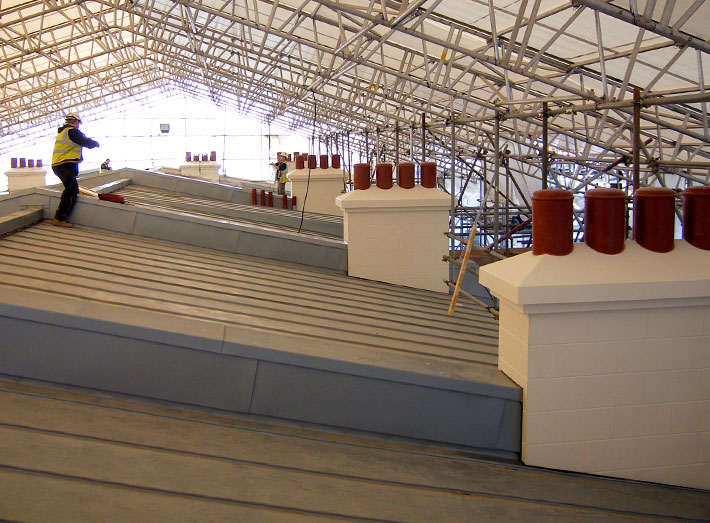 GRP prefabricated chimneys designed to provide an effective alternative.