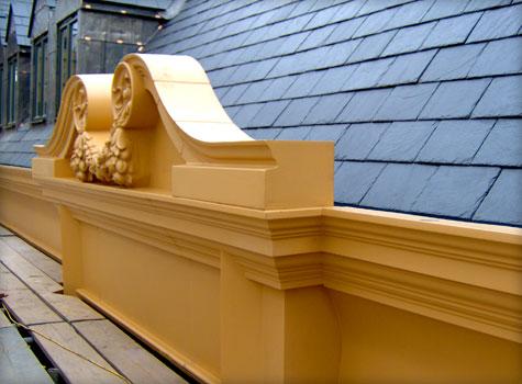 2. GRP Architectural Mouldings.