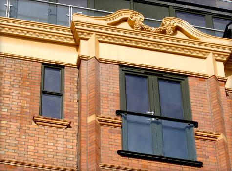 4. GRP Architectural Mouldings.