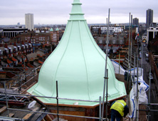 Case Study: replication of existing architectural features in GRP fibreglass