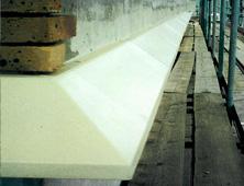 Fibreglass Moulded stone cornicing replication