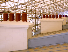 Moulded chimneys replication