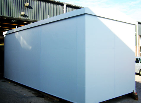 6. Containerised plant room