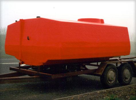 7. GRP fibreglass moulded storage tanks.