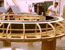 Wooden frame preparation