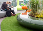 Corona planters specified for Bristol Airport...