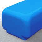 Morph bench seat in sport blue