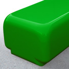 Morph bench seat in green