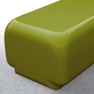 Morph bench seat in sage