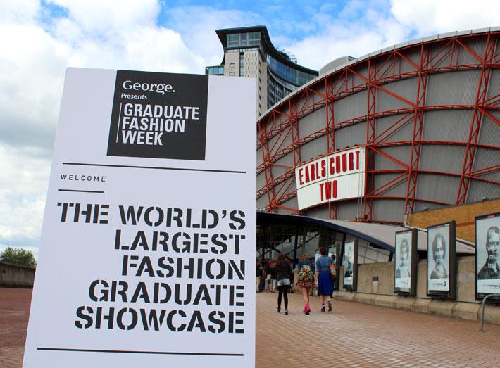 Graduate Fashion Week, Earles Court, London.