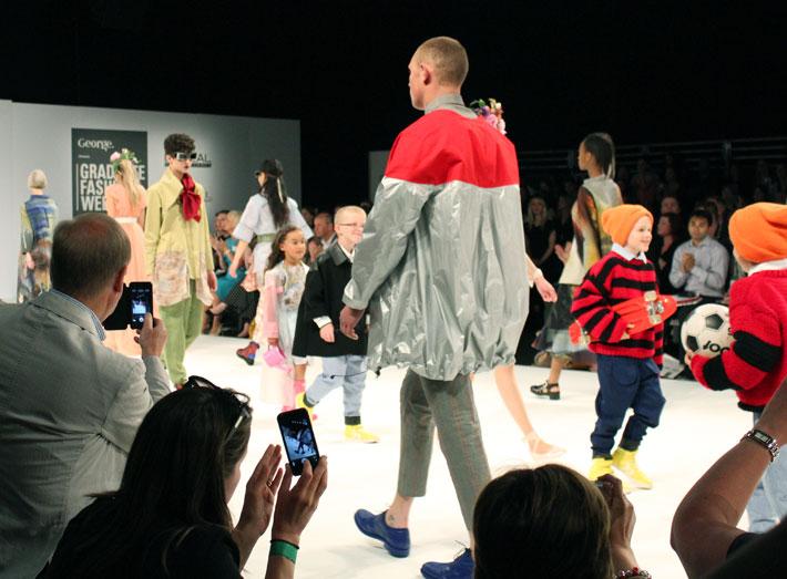 Arts University Bournemouth final show at Graduate Fashion Week.