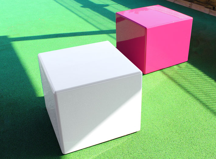 Cube is a simple box-shaped design offering the utmost in style and functionality.