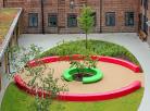 Arena & Corona create an eye-catching seating centrepiece for prestigious International school...