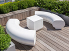 Halo modular seating