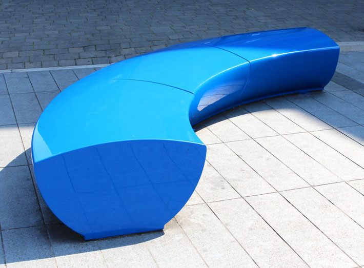 Modern, modular seating ideal for architects and landscape designers looking to create impact.