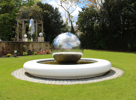 8. Circular Water features: beautiful in domestic, urban & industrial landscapes.
