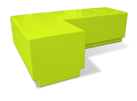 4. A range of Bench seating modules allow great flexibility in space planning.