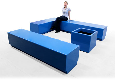8. Colourful seating ideal for Clubs, Bars & Restaurants.