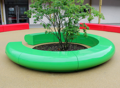3. Corona seating for schools, shopping centres, hotels, public spaces.
