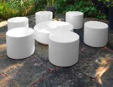 Drum Round Modular Seating and Tables