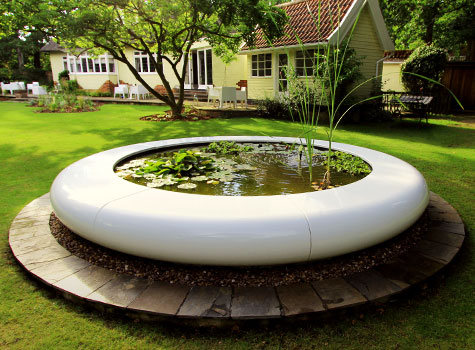 6. Water features become the focal point of any garden, traditional to contemporary.