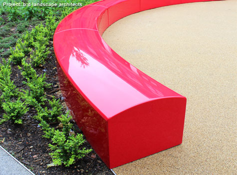 9. Practical modular seating for exterior and interior projects.