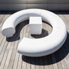 Halo Modular Circular Seating