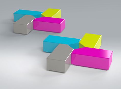 1. Designed as a sole seat or grouped to create innovative seating arrangements.