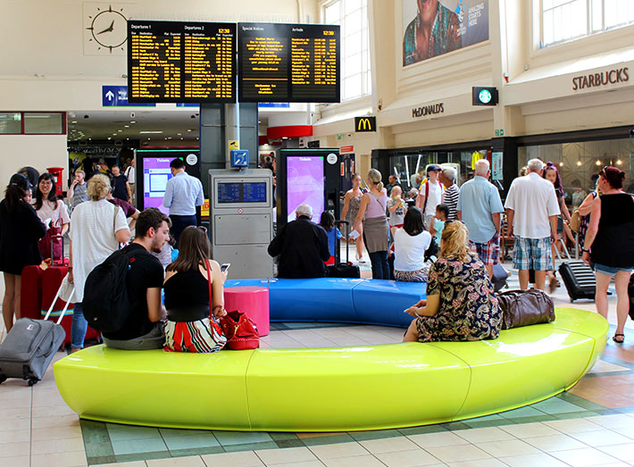 Network Rail is making improvements to Leeds railway station which will make it brighter and improve passenger experience.