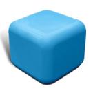 Quattro seat in blue