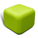 Quattro seat in lime green