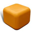 Quattro seat in orange