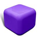 Quattro seat in purple
