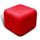 Quattro seat in red