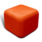Quattro seat in tangerine