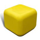 Quattro seat in yellow