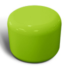 Rondo seat in lime green