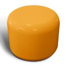 Rondo seat in orange