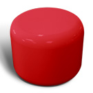 Rondo seat in red