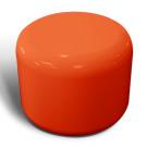 Rondo seat in tangerine