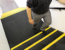 Anti-slip stair and floor products