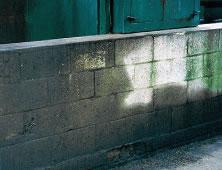 Contaminated Bund Wall