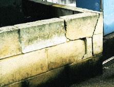 Damaged Bund Wall