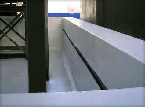 2. GlyCol Bund fibreglass Bund lining.