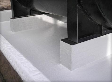 16. Fuel oil resistant bund lining.