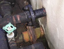 Unsealed Pipe