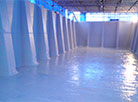 GRP Lining Refurbishment of a Semi-Submerged Cooling Tower Basin.