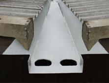 Roof Gutter GRP Lining