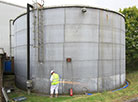 GRP Lining Fire Water Sprinkler Tank Refurbishment
